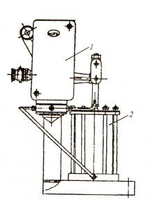 Рис.126. Гидравлический исполнительный механизм ГИМ