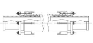 Компенсатор сальниковый двухсторонний