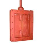 Клапан ПГВУ 295-80 прямоугольный одноосный